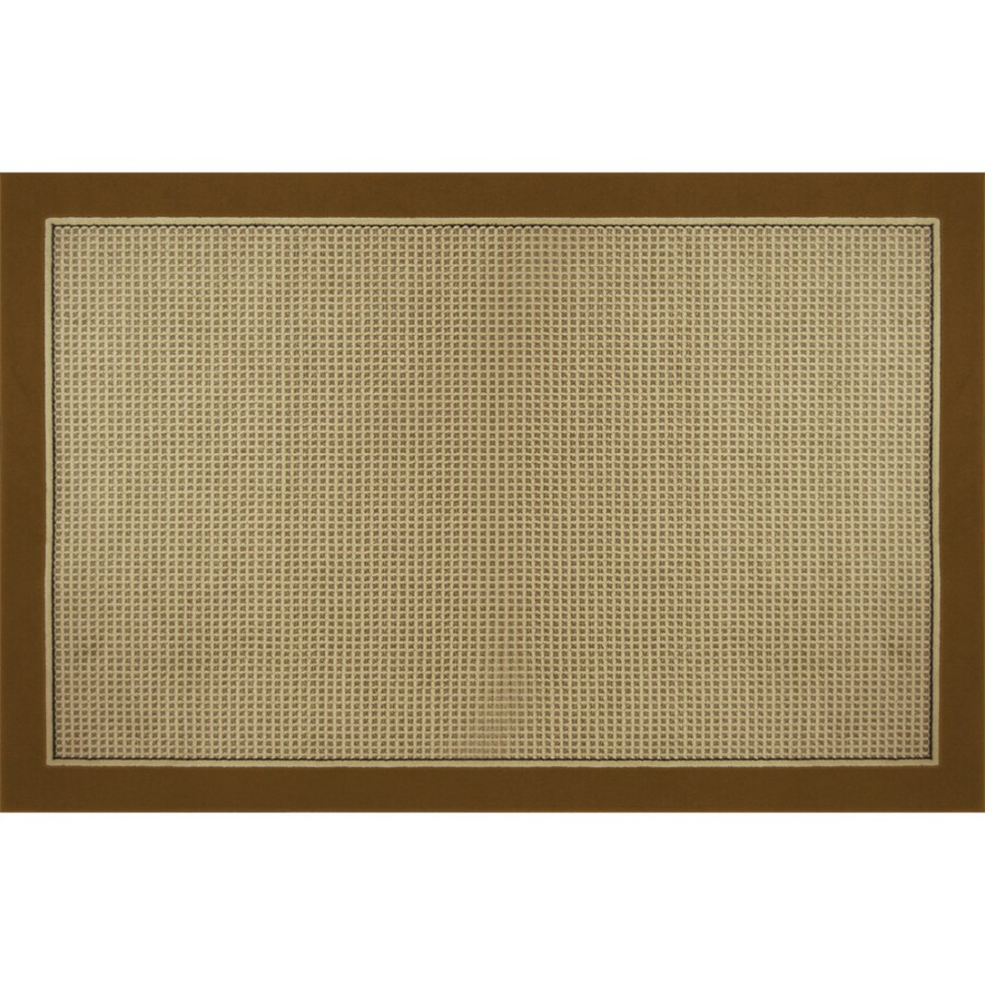 Home Dynamix Madrid Brown Rectangular Indoor Woven Area Rug (Common: 8 x 10; Actual: 94-in W x 125-in L)