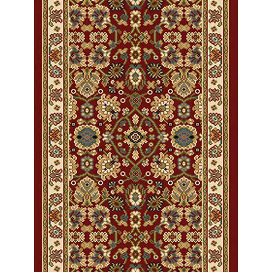 Home Dynamix Paris Red Woven Runner (Common: 2-ft x 38-ft; Actual: 2.25-ft x 37-ft)