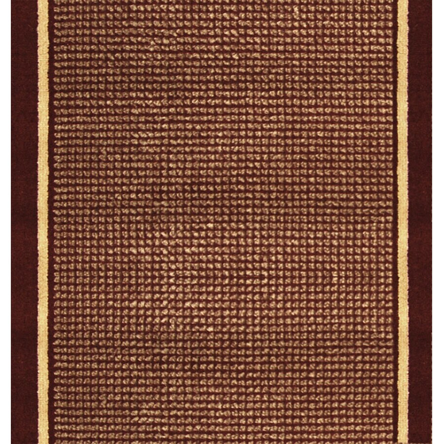Home Dynamix Madrid Red Rectangular Indoor Woven Runner (Common: 2 x 10; Actual: 27-in W x 108-in L)