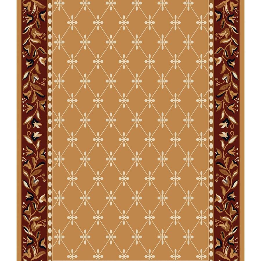 Home Dynamix London Sand Rectangular Indoor Woven Runner (Common: 2 x 24; Actual: 27-in W x 288-in L)