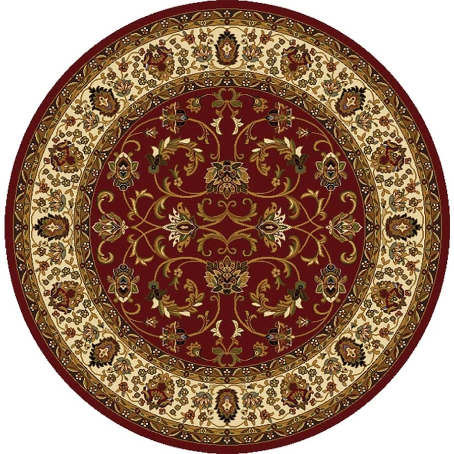 Home Dynamix Round Indoor Woven Area Rug (Common: 8 x 8; Actual: 94-in W x 94-in L)