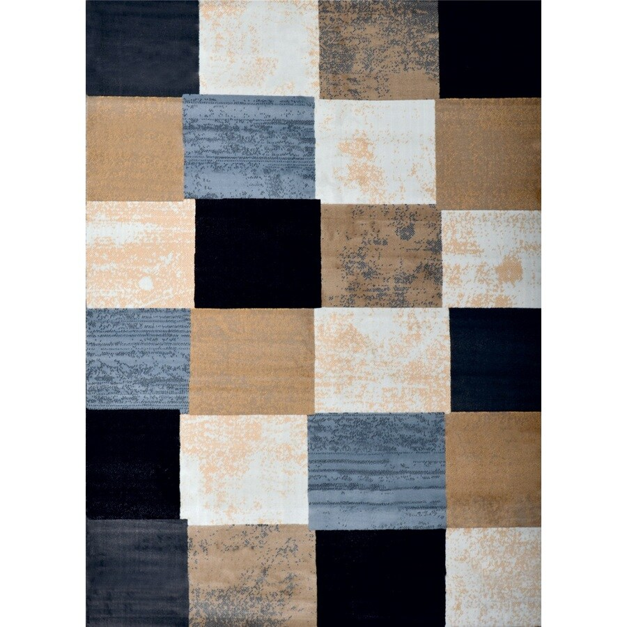 Home Dynamix Catalina Gray Rectangular Indoor Woven Area Rug (Common: 5 x 8; Actual: 63-in W x 91-in L)