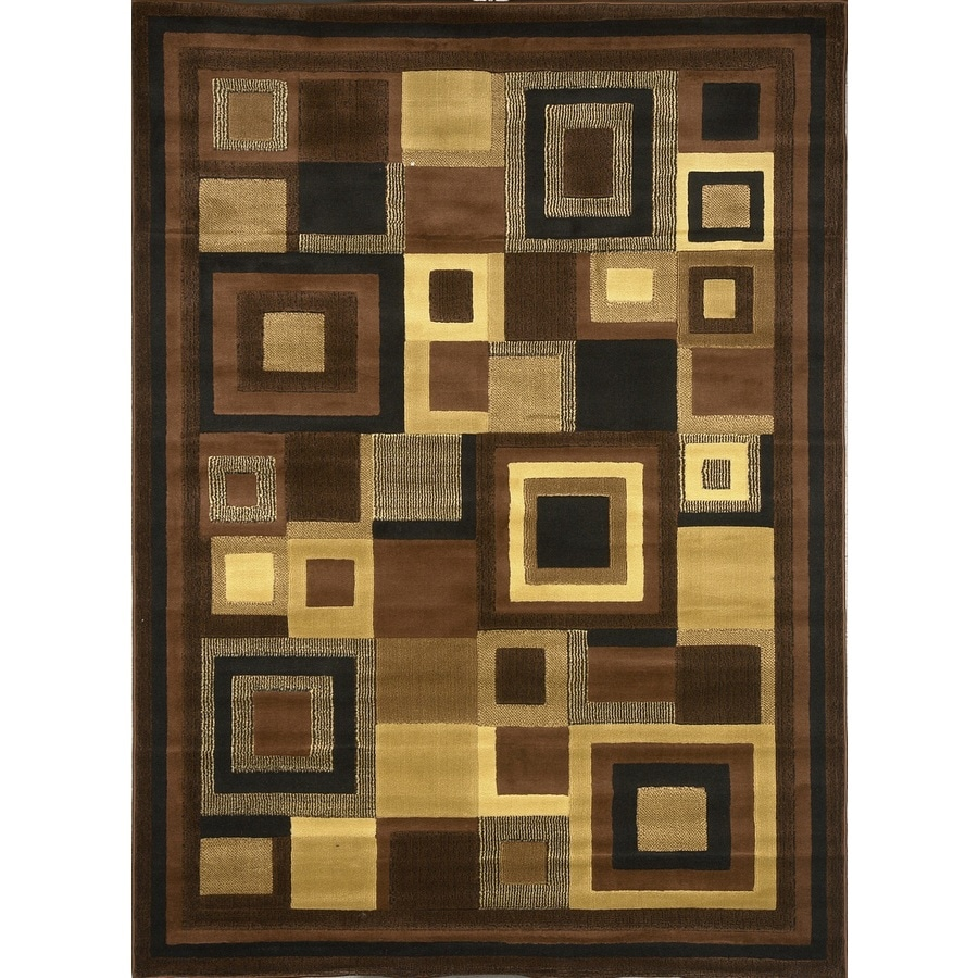 Home Dynamix Catalina Gray and Multicolor Rectangular Indoor Woven Throw Rug (Common: 4 x 6; Actual: 39-in W x 62-in L)