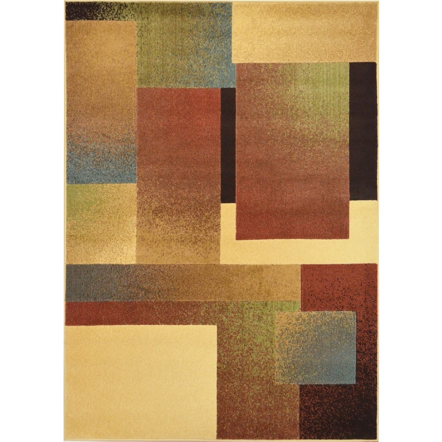 Home Dynamix Catalina Multicolor Rectangular Indoor Woven Throw Rug (Common: 4 x 6; Actual: 39-in W x 62-in L)