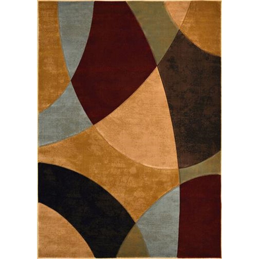 Home Dynamix Reaction Multicolor Rectangular Indoor Woven Area Rug (Common: 5 x 8; Actual: 63-in W x 91-in L)
