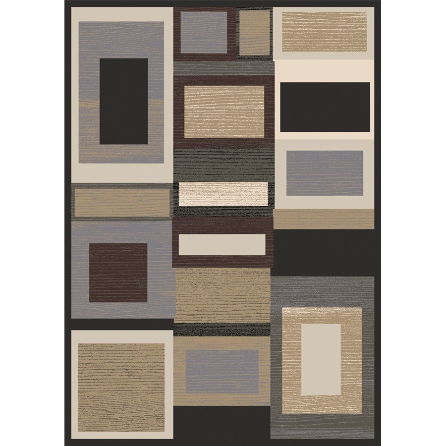 Home Dynamix Royalty Multicolor Rectangular Indoor Woven Area Rug (Common: 5 x 8; Actual: 92-in W x 124-in L)