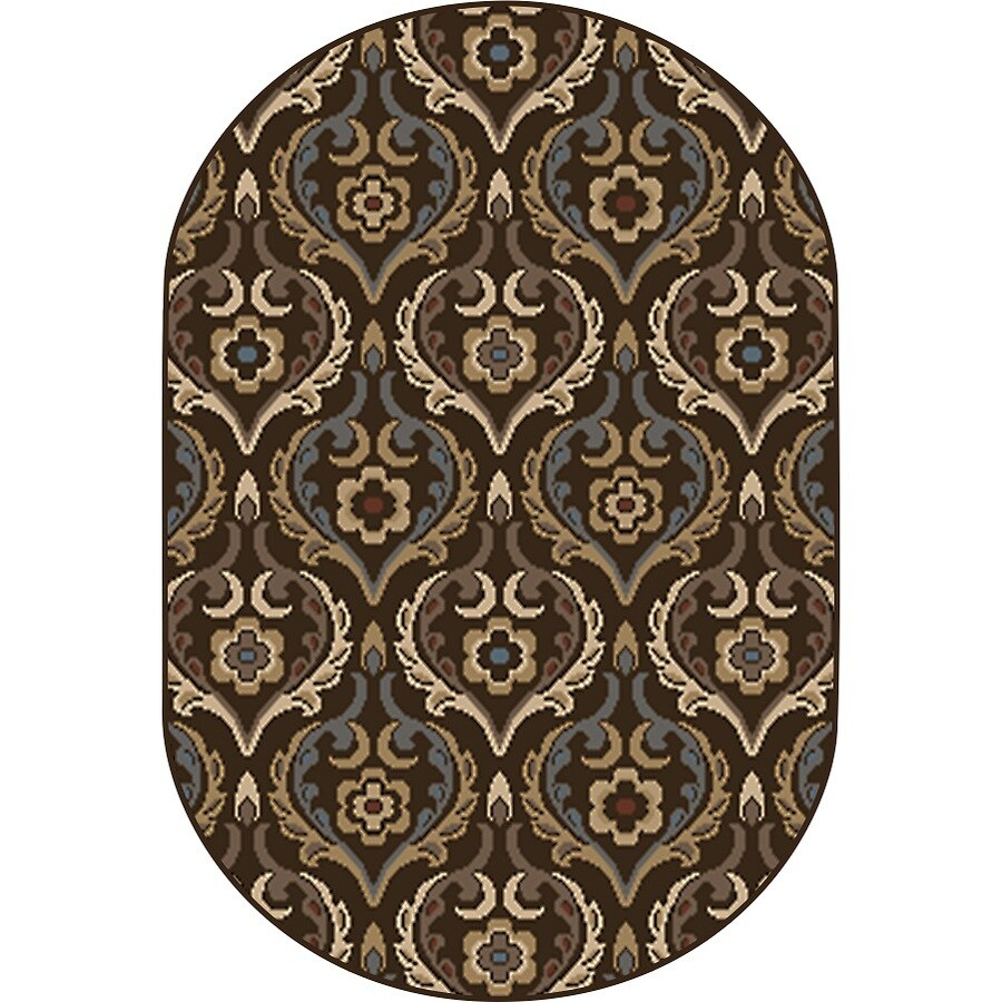 Home Dynamix Cape Town Oval Indoor Woven Throw Rug (Common: 2 x 4; Actual: 31-in W x 50-in L)