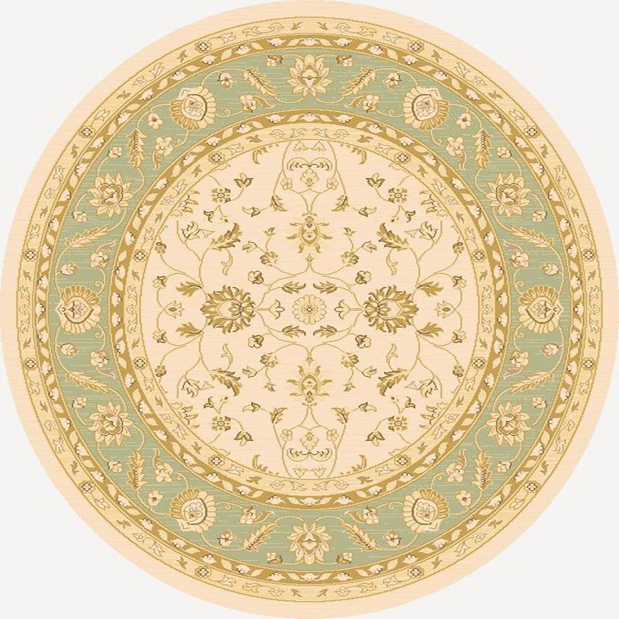 Home Dynamix Marrakesh Round Indoor Woven Area Rug (Common: 5 x 5; Actual: 62-in W x 62-in L)