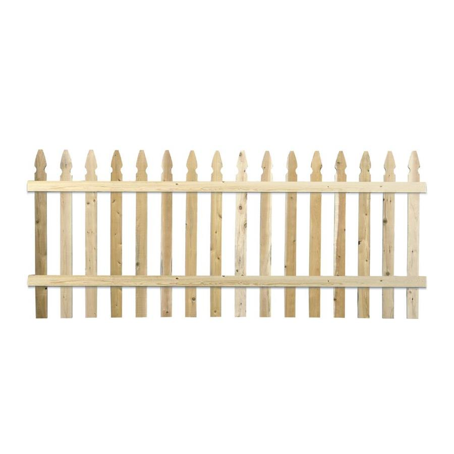 Severe Weather Cedar Fence Panel (Common: 8-ft x 3.5-ft; Actual: 8-ft x 3.45-ft)