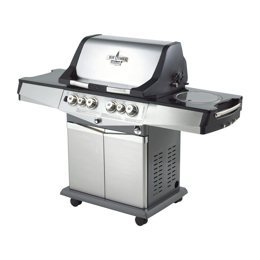 Blue Ember Professional 4-Burner Liquid Propane Gas Grill