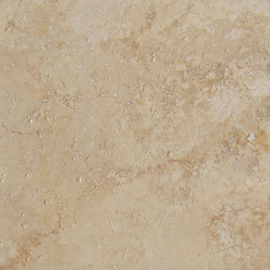 FLOORS 2000 Ekko 9-Pack Toasted Beige Ceramic Floor and Wall Tile (Common: 18-in x 18-in; Actual: 17.89-in x 17.89-in)