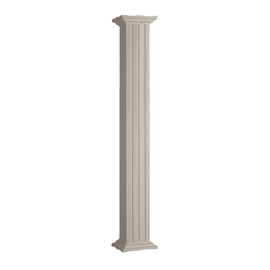 IMPERIAL 7-1/4-in x 8-ft Aluminum Colonial Column