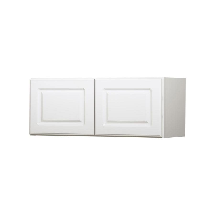 Kitchen Classics 12-in x 30-in x 12-in Concord White Double Door Kitchen Wall Cabinet
