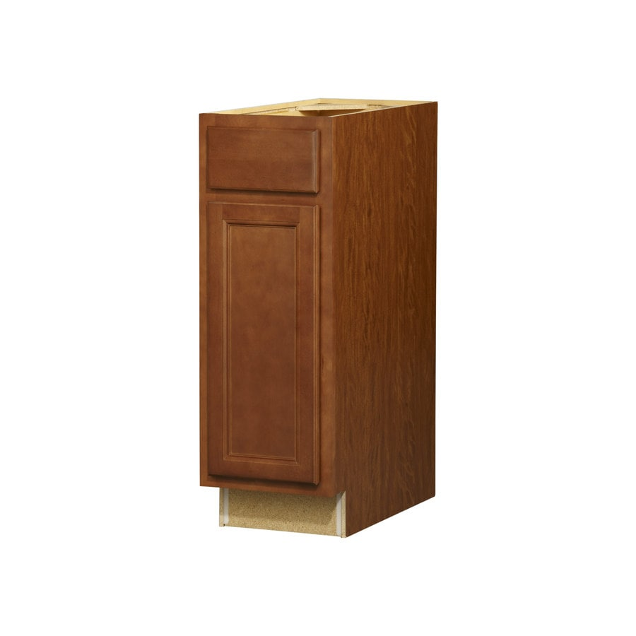 Kitchen Classics Napa 12-in W x 35-in H x 23.75-in D Saddle Door and Drawer Base Cabinet