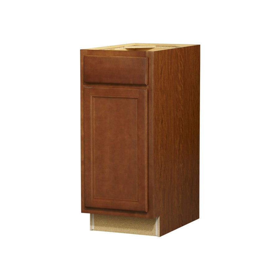 Kitchen Classics Napa 15-in W x 35-in H x 23.75-in D Saddle Door and Drawer Base Cabinet