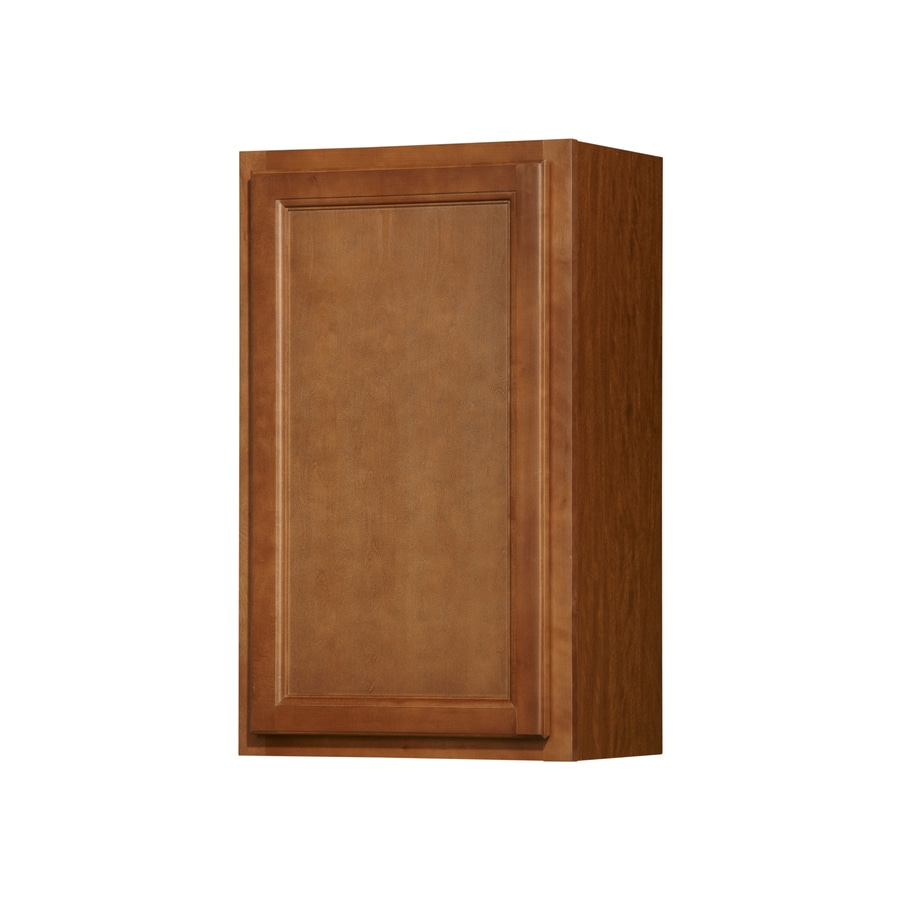 Kitchen Classics Napa 18-in W x 30-in H x 12-in D Saddle Door Wall Cabinet