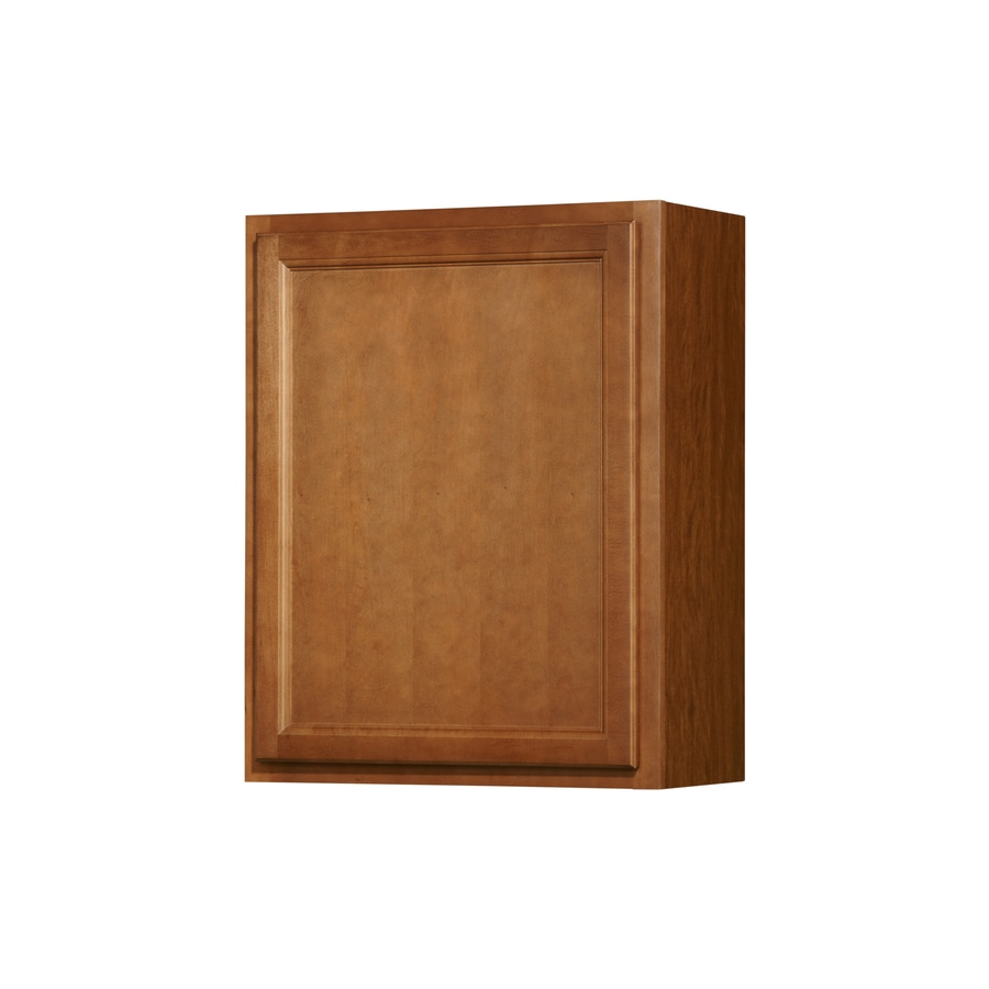 Shop Kitchen Classics Napa 24 In W X 30 In H X 12 In D Saddle Door Wall Cabinet At