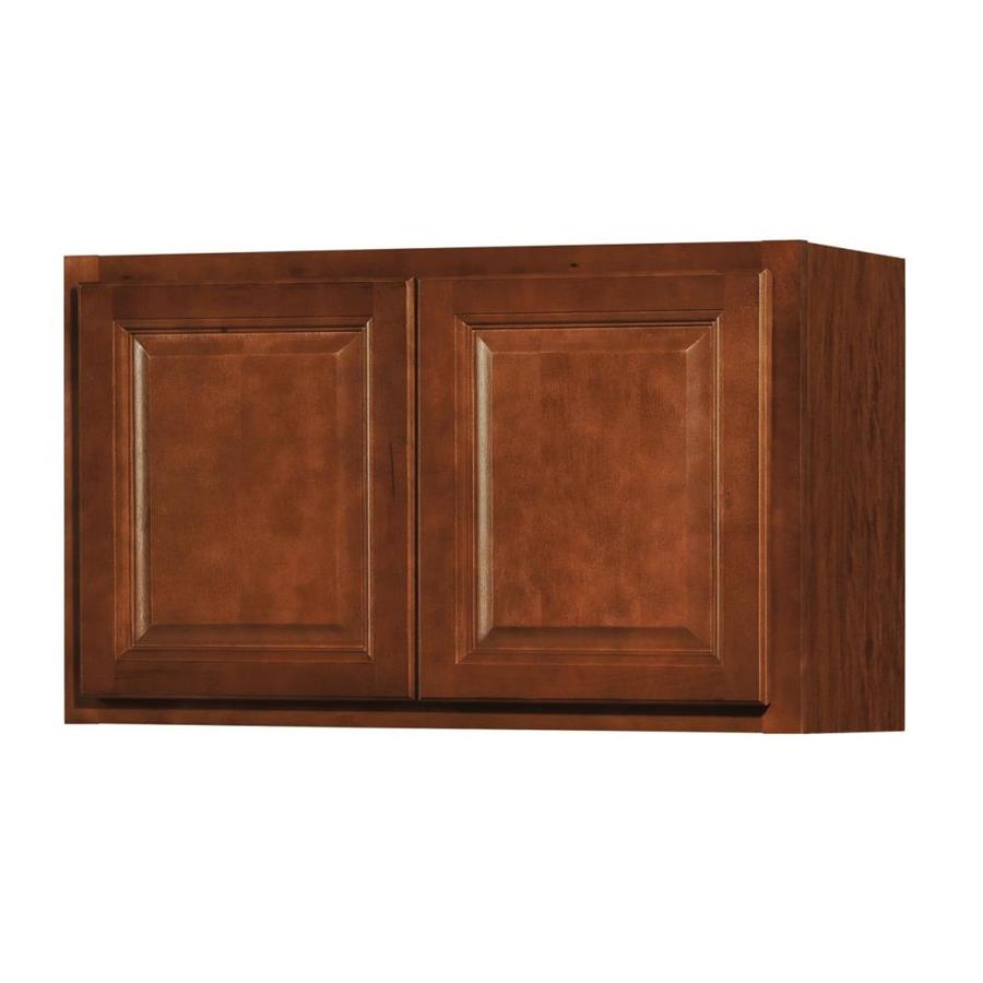 Kitchen Classics Cheyenne 30-in W x 18-in H x 12-in D Saddle Door Wall Cabinet