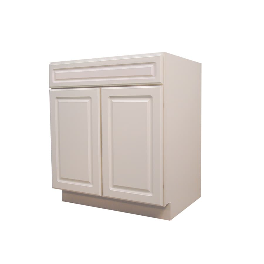 Kitchen Classics 34.5-in H x 24-in W x 24-in D Door and Drawer Base Cabinet