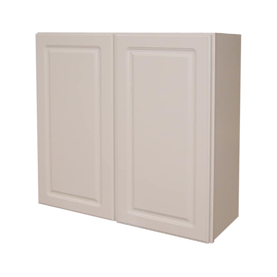 Shop kitchen classics 30 in x 24 in x 12 in double door for Kitchen cabinets 30 x 24
