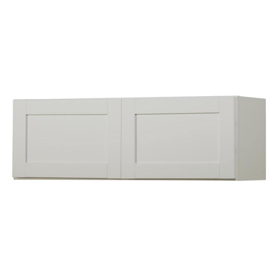 Kitchen Classics Arcadia 36-in W x 12-in H x 12-in D White Door Wall Cabinet