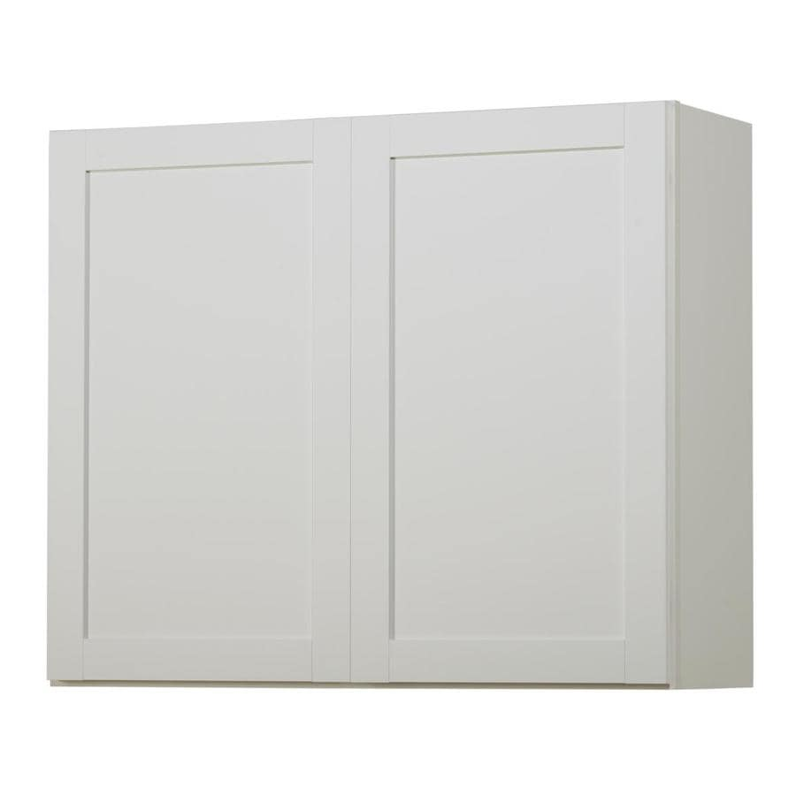Kitchen Classics Arcadia 36-in W x 30-in H x 12-in D White Door Wall Cabinet