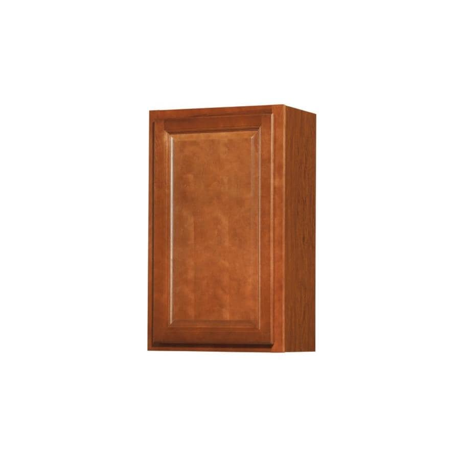 Kitchen Classics Cheyenne 18-in W x 30-in H x 12-in D Saddle Door Wall Cabinet