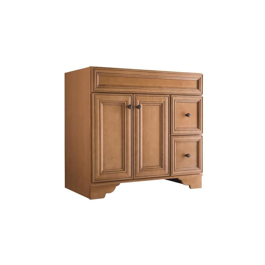 Style Selections Ryerson Golden Traditional Bathroom Vanity (Common: 36-in x 21-in; Actual: 36-in x 21-in)