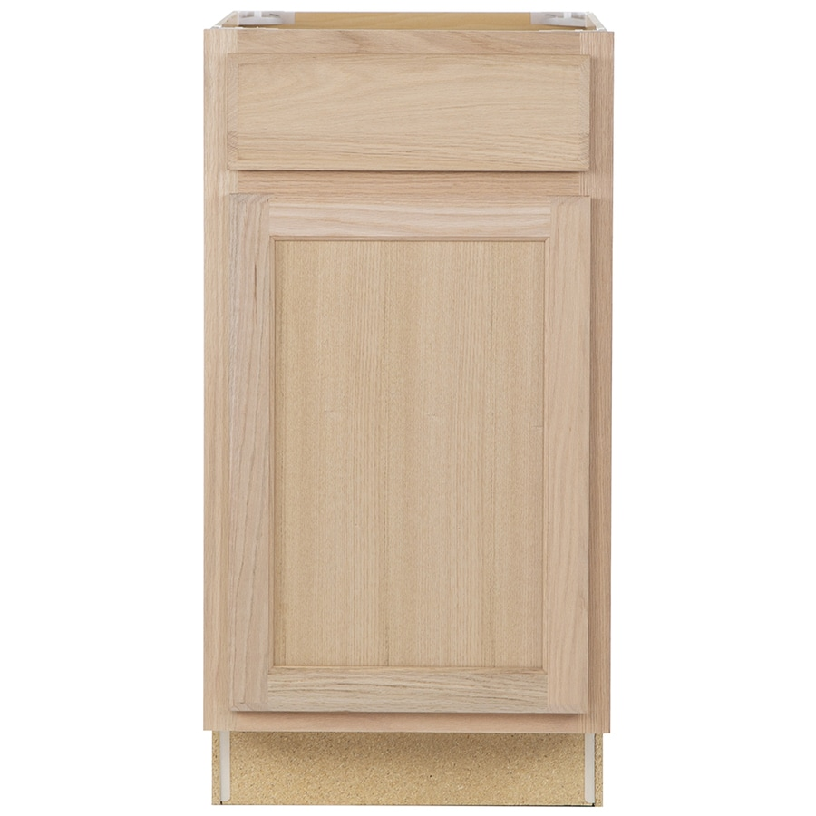 Kitchen Classics 18-in W x 35-in H x 23.75-in D Unfinished Door and Drawer Base Cabinet
