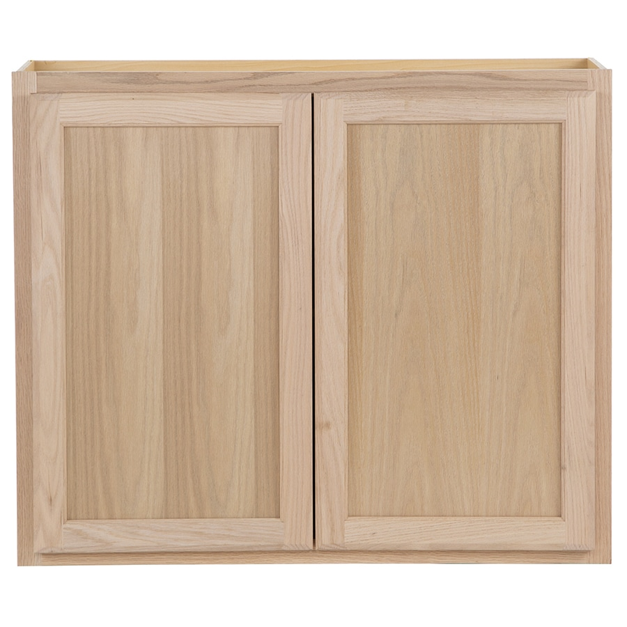 Kitchen Classics 36-in W x 30-in H x 12-in D Unfinished Door Wall Cabinet