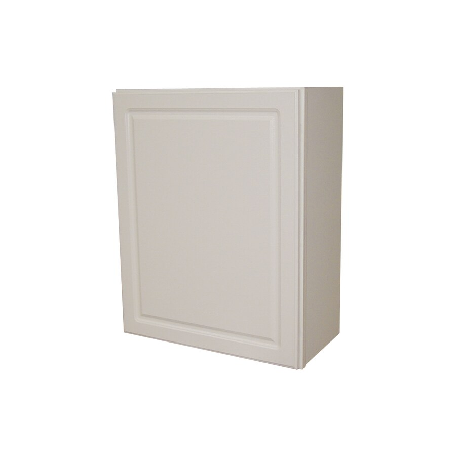 Shop Kitchen Classics 30 In H X 24 In W X 12 In D Concord White Single Door Wall Cabinet At