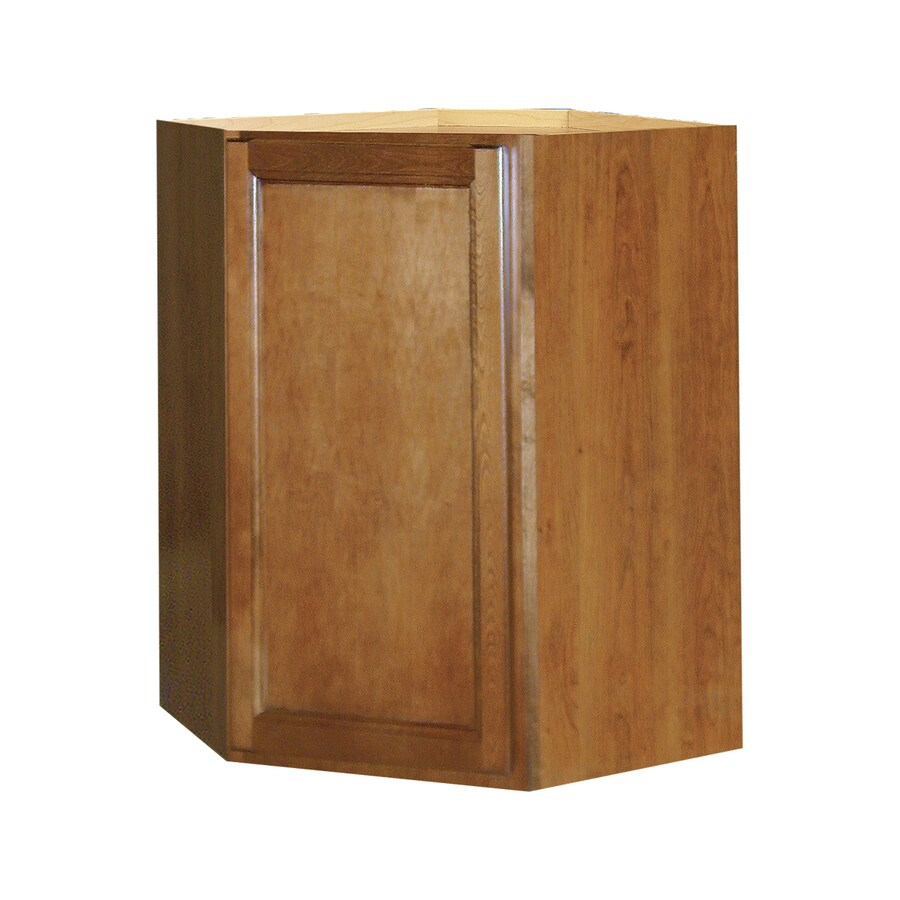 Shop Kitchen Classics 30 In H X 24 In W X 12 In D Napa Saddle Corner Wall Cabinet At
