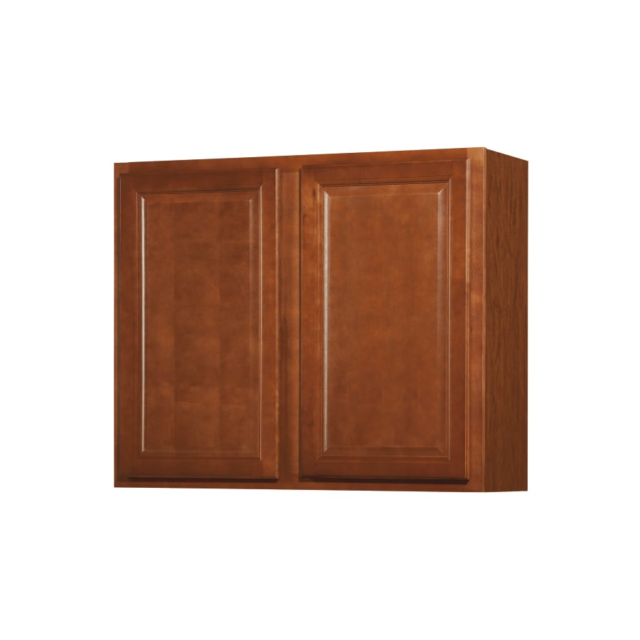 Shop kitchen classics 30 in h x 36 in w x 12 in d cheyenne for Cheyenne kitchen cabinets lowes