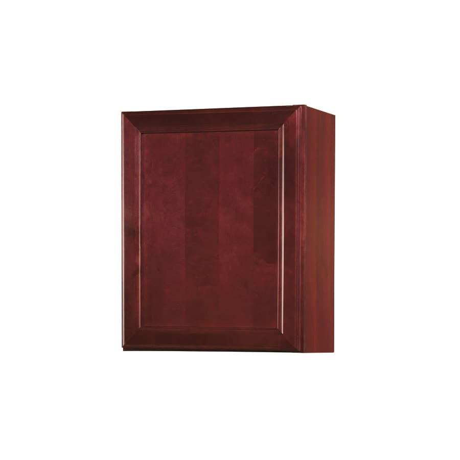Shop kitchen classics 30 in h x 24 in w x 12 in d merlot for Kitchen cabinets 30 x 24
