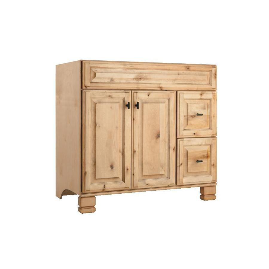 Shop Style Selections Collingwood Natural Traditional Bathroom Vanity Common 36 In X 21 In