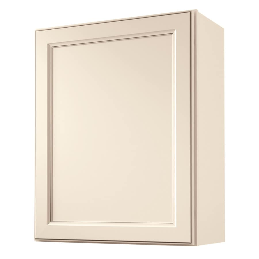 Kitchen Classics Caspian 24-in W x 30-in H x 12-in D Toasted Antique Door Wall Cabinet