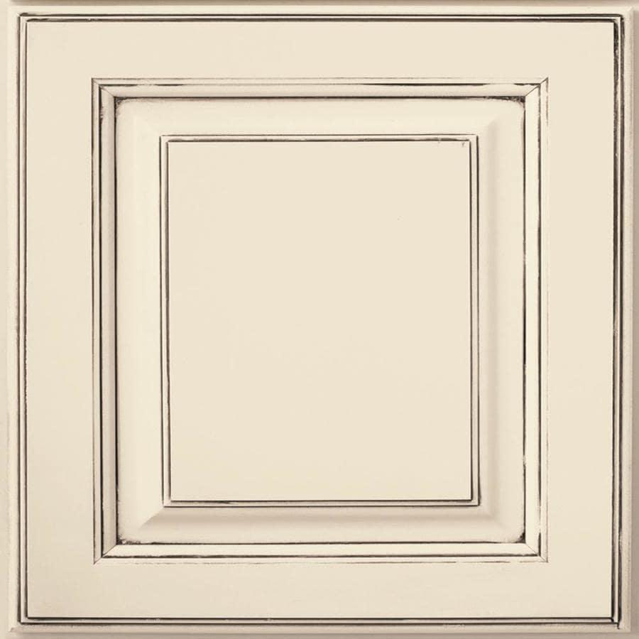 Diamond Henderson 14.75-in x 14.75-in Amaretto Creme Maple Square Cabinet Sample