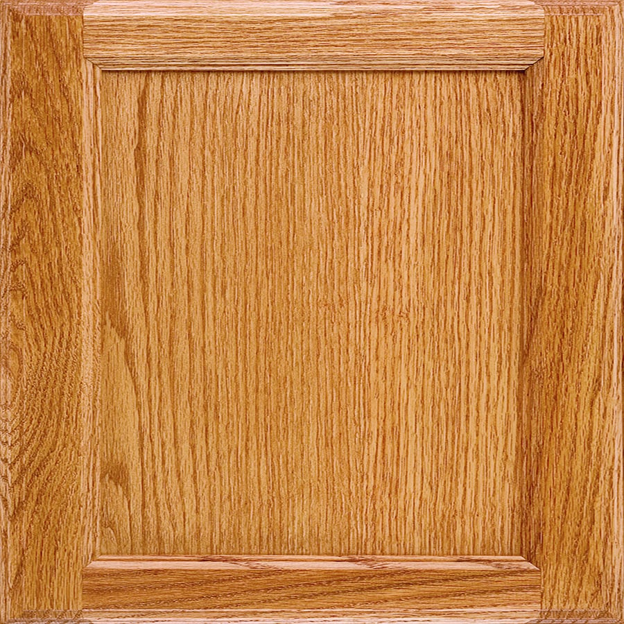 Diamond Griffin 14.75-in x 14.75-in Light Oak Square Cabinet Sample