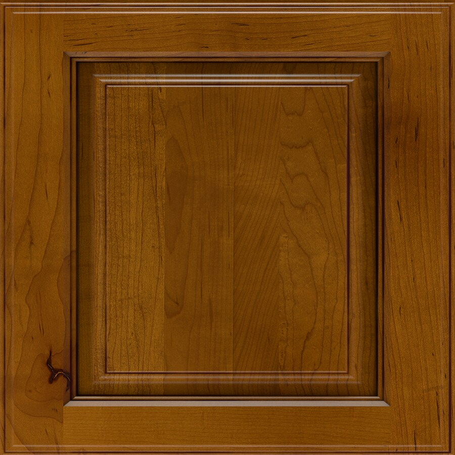 Diamond Vancouver 14.75-in x 14.75-in Coffee Maple Square Cabinet Sample