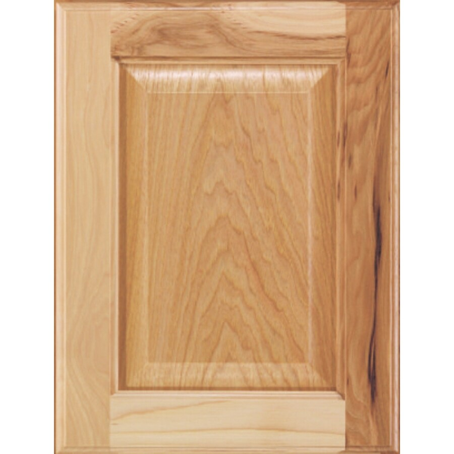 Diamond Halston 14.75-in x 14.75-in Buff Hickory Square Cabinet Sample