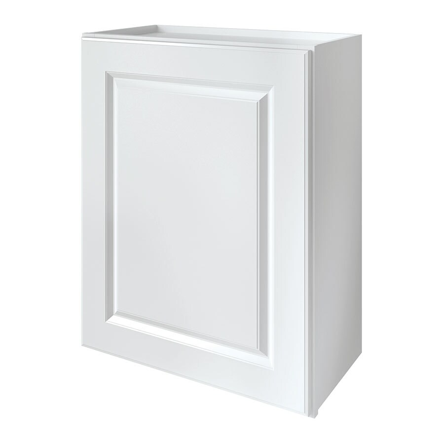Shop kitchen classics waterford 24 in w x 30 in h x 12 in for Kitchen cabinets lowes with single stickers