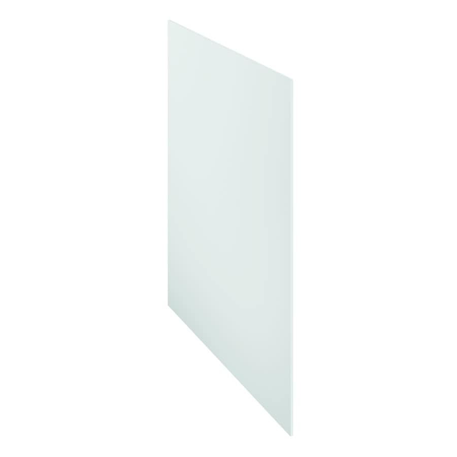 Kitchen Classics Arcadia 48-in x 36-in White Cabinet End Panel