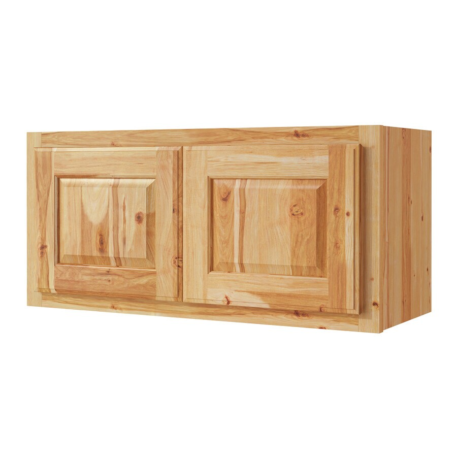 Kitchen Classics Denver 30-in W x 14-in H x 12-in D Hickory Door Wall Cabinet