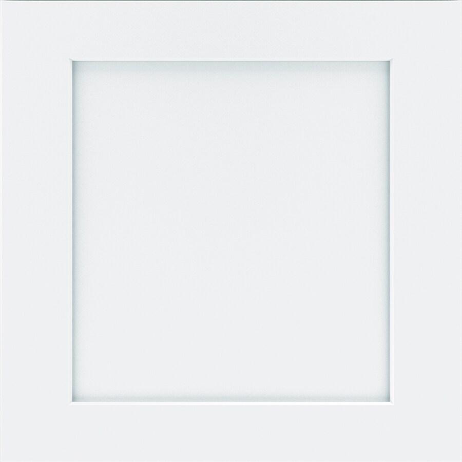 Diamond Wallace 14.75-in x 14.75-in White Maple Square Cabinet Sample