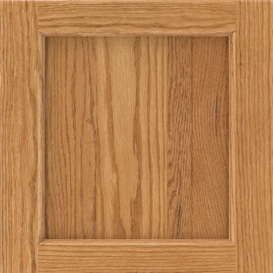 Diamond Karwin 14.75-in x 14.75-in Light Oak Square Cabinet Sample