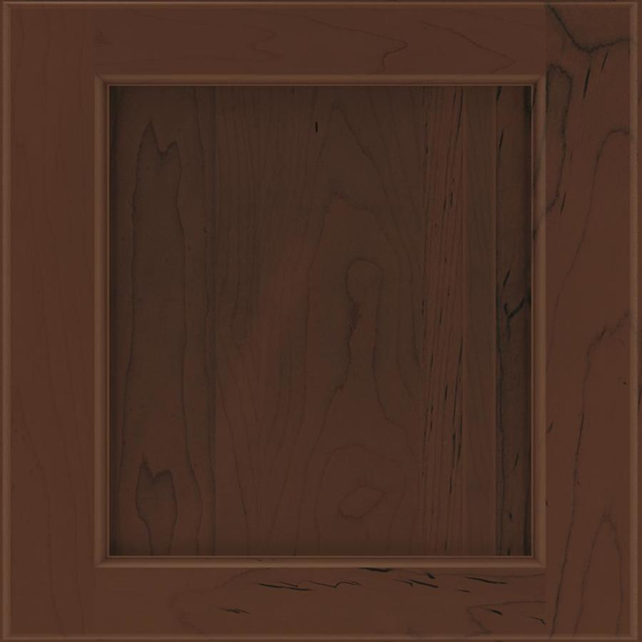 Shop diamond karwin 1475 in x 1475 in chocolate maple for Kitchen cabinets lowes with format papiers