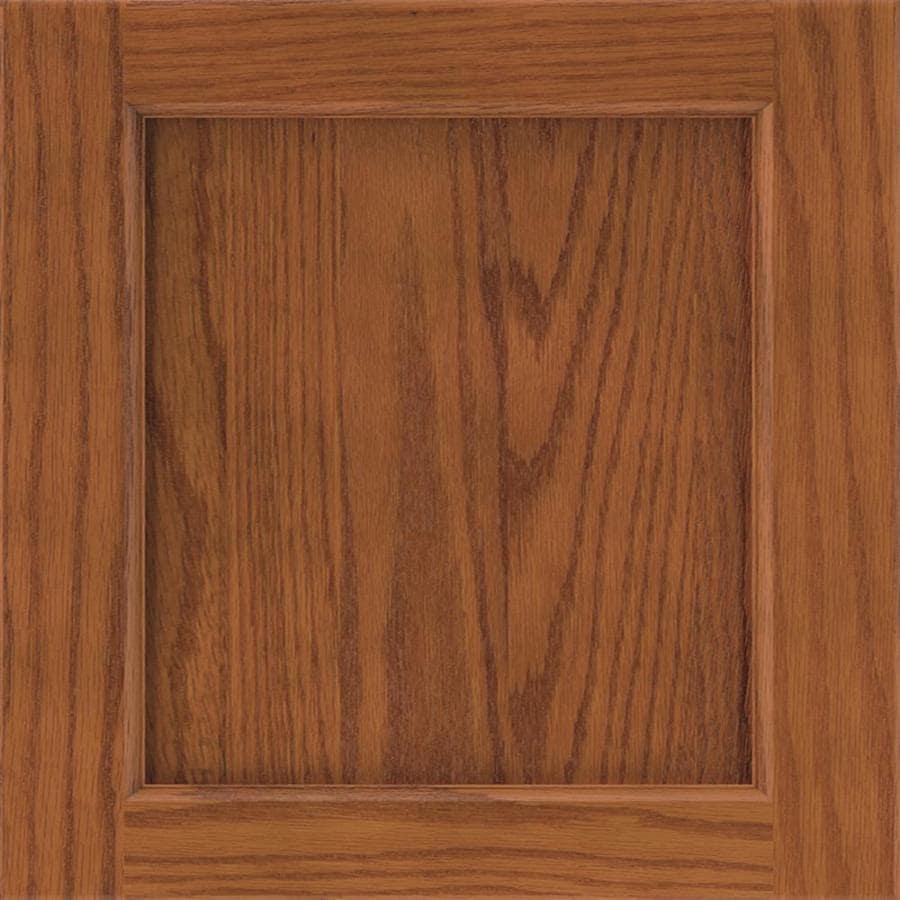 Diamond Karwin 14.75-in x 14.75-in Cattail Oak Square Cabinet Sample