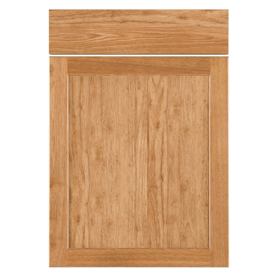Nimble by Diamond Copper Pot 20.875-in W x 23.9062-in H x 0.75-in D Honey Shaker Door and Drawer Base Cabinet