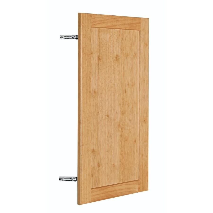 Nimble by Diamond Copper Pot 14.875-in W x 29.906-in H x 0.75-in D Honey Shaker Door Wall Cabinet