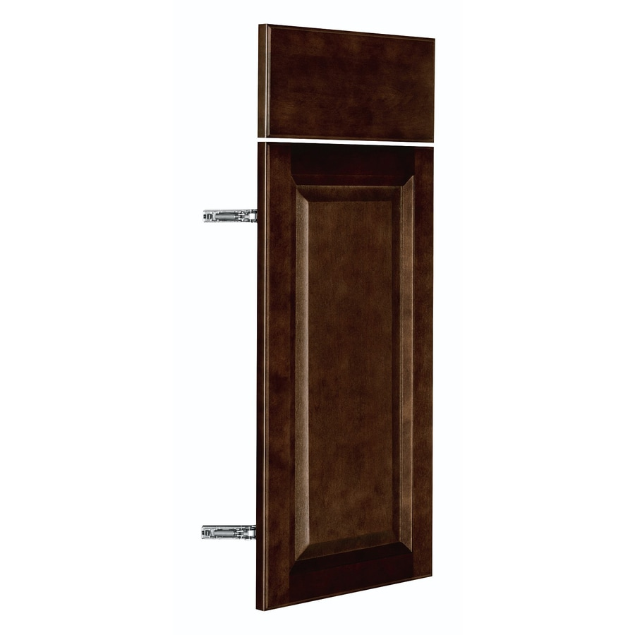 Nimble by Diamond Balsamic Barrel 11.875-in W x 23.9062-in H x 0.75-in D Umber Door and Drawer Base Cabinet
